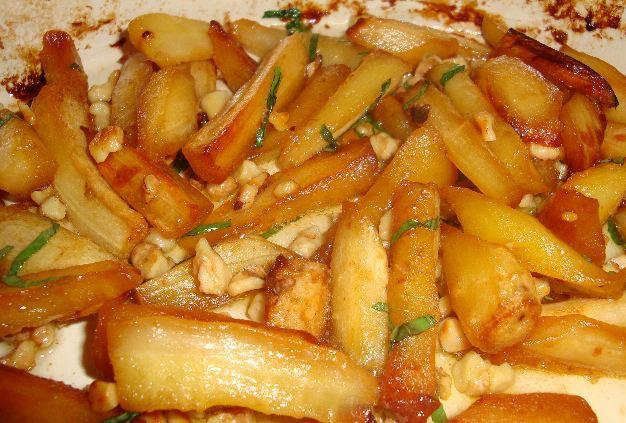 Charm's Cookbook ~ Maple Roasted Parsnips
